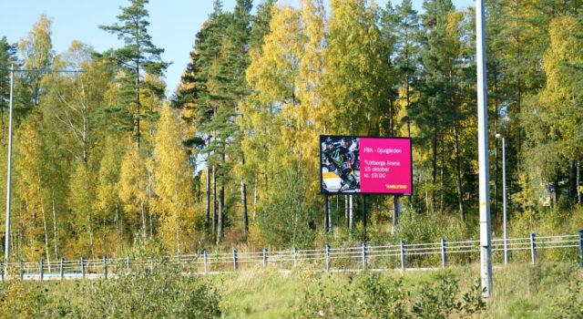 Storbildsskärm Karlstads Kommun